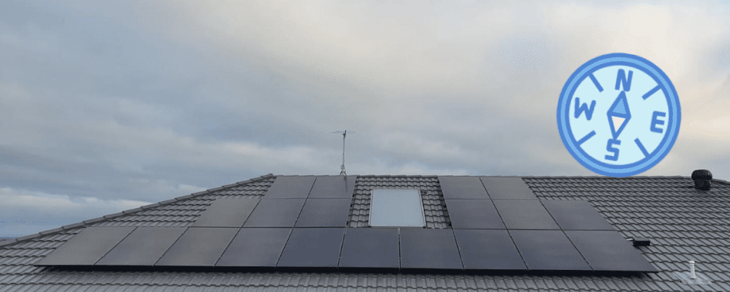 what direction does your roof face for buying the best solar panels for your home